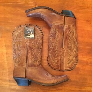 NWT Old West Cowboy Boots